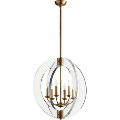 Pavan 6-Light Globe Pendant