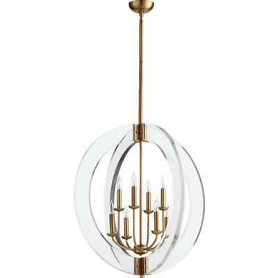 Pavan 8-Light Globe Pendant