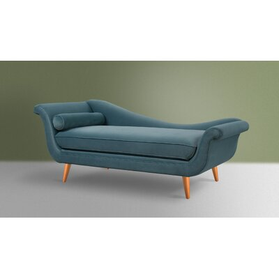 Florentia Chaise Lounge Upholstery: Arctic Blue
