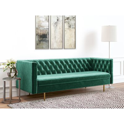 Whitehurst Sofa Upholstery: Emerald Green