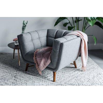 Claris Mid-Century Modern Barrel Chair