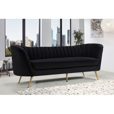 Canh Sofa Upholstery: Black