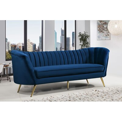 Canh Sofa Upholstery: Navy