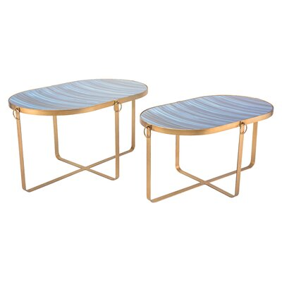 Yentin 2 Piece Nesting Tables