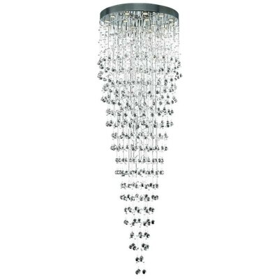 Deidamia 16-Light 32 Large Flush Mount Crystal Grade: Spectra Swarovski