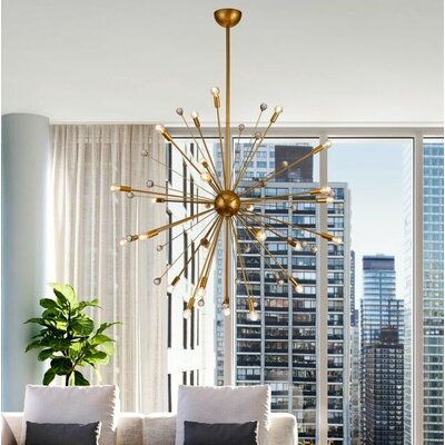 Kneeland LED Sputnik Chandelier