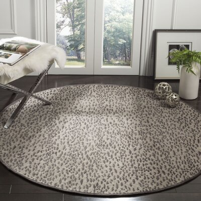 Ankit Hand Tufted Area Rug Rug Size: Round�6