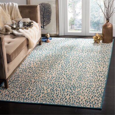 Ankit Hand Tufted Blue Area Rug Rug Size: Rectangle 23 x 4