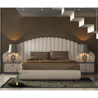 Knorr Panel 3 Piece Bedroom Set Size: Queen