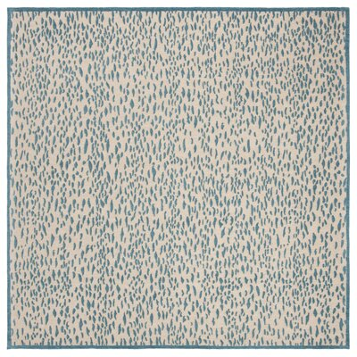 Ankit Hand Tufted Blue Area Rug Rug Size: Square�6