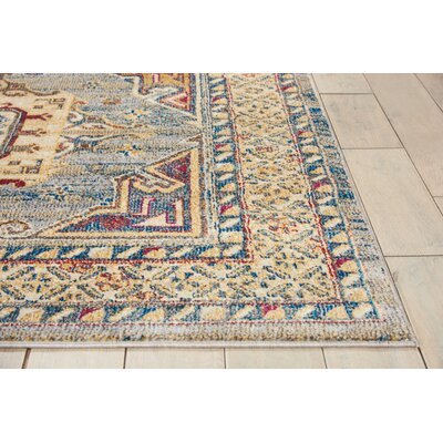 Landen Slate Area Rug Rug Size: Rectangle 311 x 511