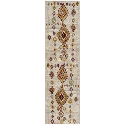 Lebanon Light Gray Area Rug Rug Size: Runner 23 x 8