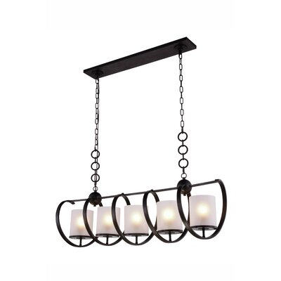Mescalero 5-Light Pendant Finish: Vintage Bronze
