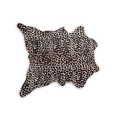 Hammond Hand-Woven Cowhide Beige/Black/White Area Rug