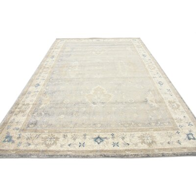 Jaiden Gray Area Rug Rug Size: Rectangle 7 x 10