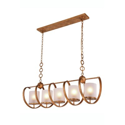 Mescalero 5-Light Pendant Color: Golden Iron