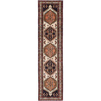 One-of-a-Kind Lin Hand-Knotted Beige/Brown Area Rug