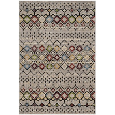 Hedley Light Gray Area Rug Rug Size: Rectangle 51 x 76