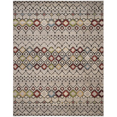 Hedley Light Gray Area Rug Rug Size: Rectangle 8 x 10