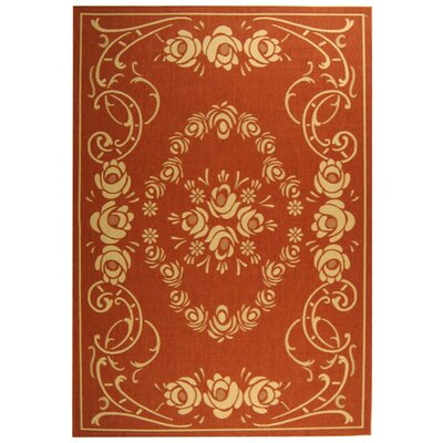 Elisabeth Terra/Natural Outdoor Rug Rug Size: Rectangle 67 x 96
