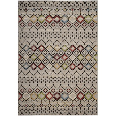 Hedley Light Gray Area Rug Rug Size: Rectangle 67 x 92