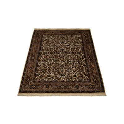 Marathon Hand-Woven Wool Cream Area Rug Rug Size: Rectangle 54 x 710