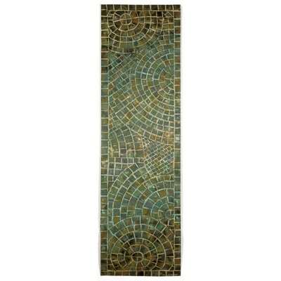 Alline Arch Tile Blue Area Rug Rug Size: Runner 13 x 8