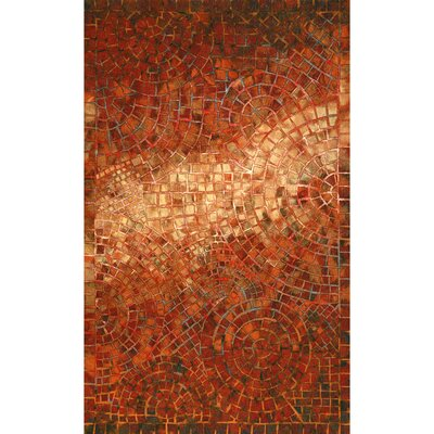 Alline Arch Tile Red Indoor/Outdoor Area Rug Rug Size: Rectangle 5 x 8