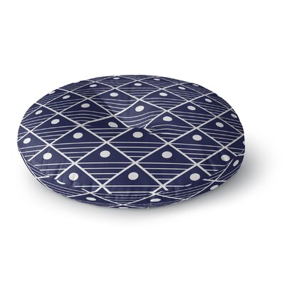 Cora Indoor/Outdoor Floor Pillow Size: 23 H x 23 W x 9.5 D