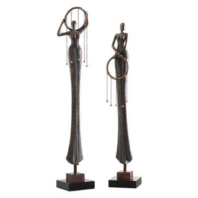 Tamsen Ring Dance 2 Piece Statue Set BBMT8129 41579574