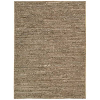 Santos Hand-Woven Beige Area Rug Rug Size: Rectangle 4 x 6
