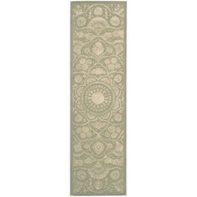 Riggs Hand-Tufted Green Area Rug Rug Size: Runner 23 x 8