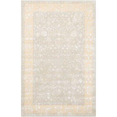 Veda Hand-Tufted Blue Mist Area Rug Rug Size: Rectangle 3'6