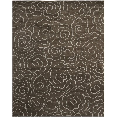 Tatyana Chocolate/Ivory Area Rug Rug Size: Rectangle 76 x 96