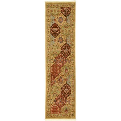 Jeannie Tan Area Rug Rug Size: Runner 3 x 10