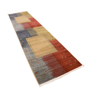 Jan Tan Indoor/Outdoor Area Rug Rug Size: Runner 27 x 10