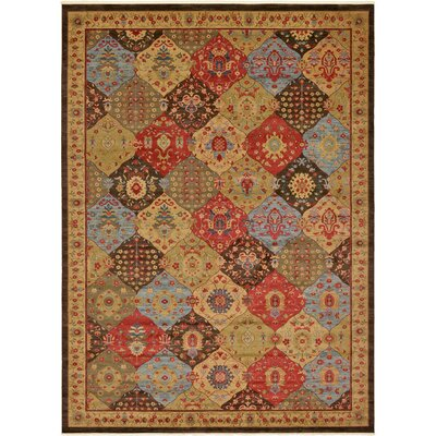 Jeannie Brown Area Rug Rug Size: Rectangle 13 x 18