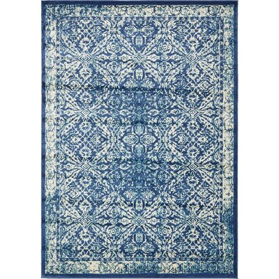 Jae Blue Indoor Area Rug Rug Size: Rectangle 8 x 114