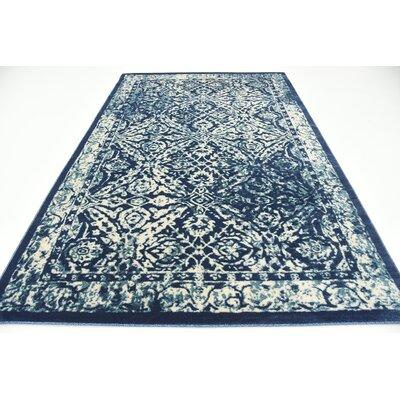 Jae Blue Indoor Area Rug Rug Size: Rectangle 6 x 9