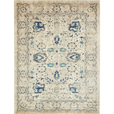Geleen Beige Area Rug Rug Size: Rectangle 10 x 13