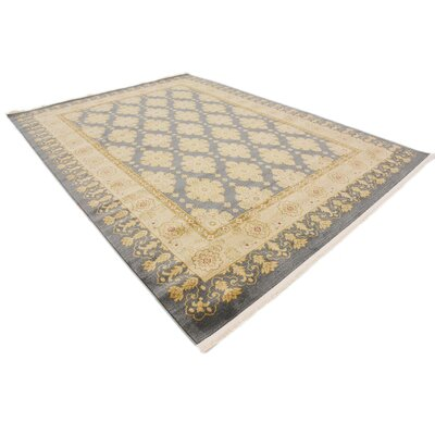 Britley Blue Area Rug Rug Size: Rectangle 8 x 11