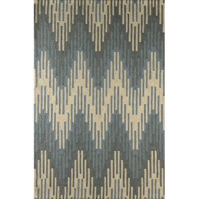 Flanary Hand-Tufted Sky Area Rug Rug Size: Rectangle 4 x 6