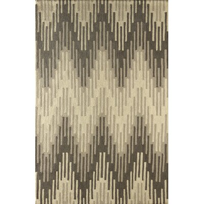 Flanary Hand Tufted Soot Area Rug Rug Size: Rectangle 8 x 10