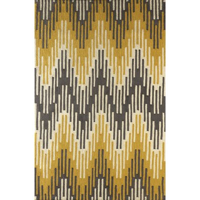 Flanary Hand Tufted Horseradish Area Rug Rug Size: Rectangle 6 x 9