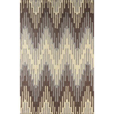 Flanary Hand Tufted Dark Iris Area Rug Rug Size: Rectangle 5 x 8