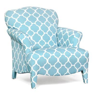 Portmeirion Armchair Upholstery: Patio Aqua