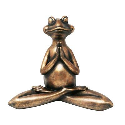 Decorative Resin Yoga Frog Figurine BBMT4198 40622103