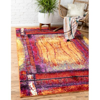 Sidney Light Blue Area Rug Rug Size: Rectangle 8 x 10
