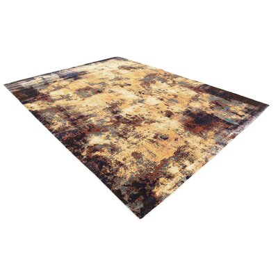 Jani Beige/Brown Area Rug Rug Size: Rectangle 9 x 12