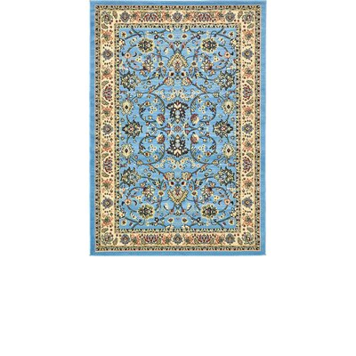 Jeanelle Light Blue Oriental Area Rug Rug Size: Rectangle 4 x 6